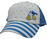 Best ディズニー野球帽子 - (ディズニー) Disney KIDSキッズ (ドナルドダック)Donald Duck アイコンボーダーメッシュキャップ サックスブルー Review