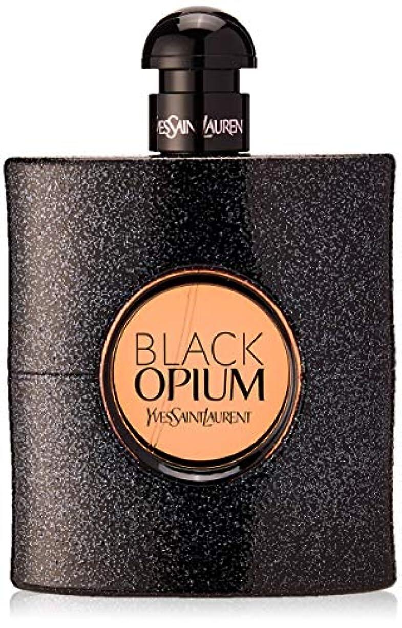 最大の分析する説教イヴサンローラン Black Opium Eau De Parfum Spray 90ml [海外直送品]