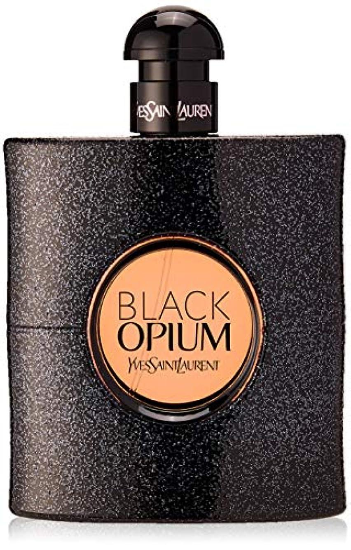 見えるカブ人道的イヴサンローラン Black Opium Eau De Parfum Spray 90ml [海外直送品]