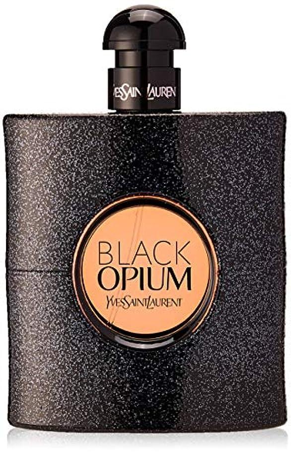 傾向がある取り組む受け入れたイヴサンローラン Black Opium Eau De Parfum Spray 90ml [海外直送品]