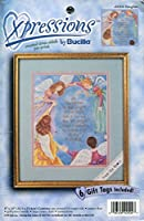 Bucilla Expressions Daughter Counted Cross Stitch Pre-Print Kit [並行輸入品]