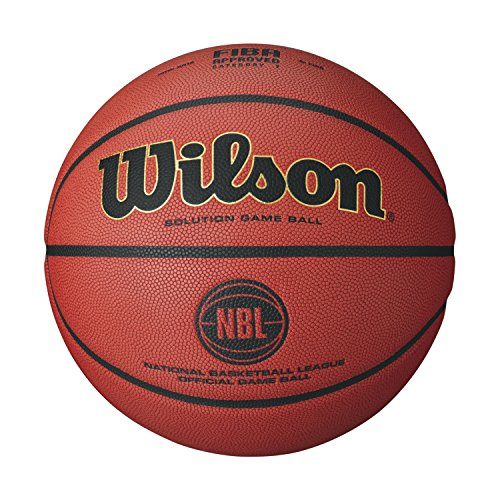 Wilson NBL Solution Official Game Basketball, Size #7