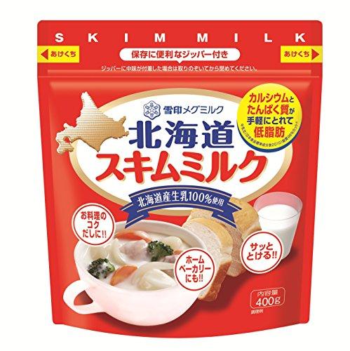 雪印メグミルク 北海道スキムミルク 400g