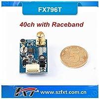 FXT Mini 5.8GHz 40CH 200mW Raceband VTx FPV VideoTransmitter SMA - FX796T [並行輸入品]