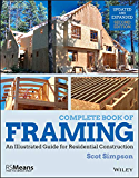 Complete Book of Framing: An Illustrated Guide for Residential Construction (RSMeans) (English Edition)