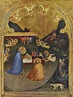 Lais Puzzle Bernardo Daddi - サンPancrazioからマリアの祭壇、シーン:キリスト降誕のシーン 100 部