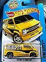 Hot Wheels Custom 039 77 Dodge Van Yellow and Black Mooneyes 20/250