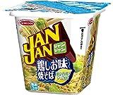 エースコック JANJAN 鶏しお味焼そば レモン風味 102g×12個