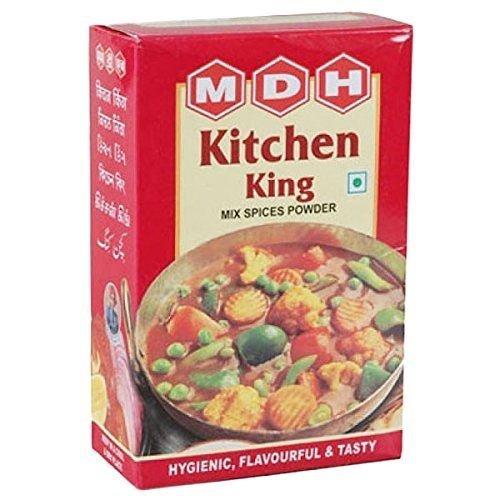 MDH キッチンキング 100g 3箱 チャイバック3包付き Kitchen King スパイス ハーブ 香辛料 調味料 ミックススパイス 業務用