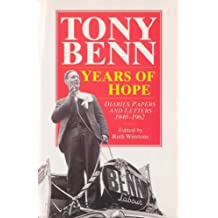 Years Of Hope: Diaries,Letters and Papers 1940-1962