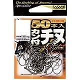 ささめ針(SASAME) 05VRT カン付チヌ フック (黒)徳用50本入 04 釣り針
