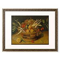 Soreau, Isaak,1604- after 1668 「Vegetable and Fruit Still life.」 額装アート作品