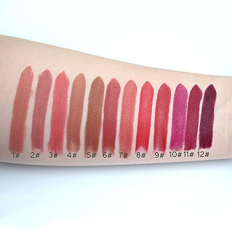 学生アライアンス住人Color #12 Lipstick Moisturizer Lips Smooth Lip Stick Long Lasting Charming Lip Lipstick Cosmetic Beauty Makeup...
