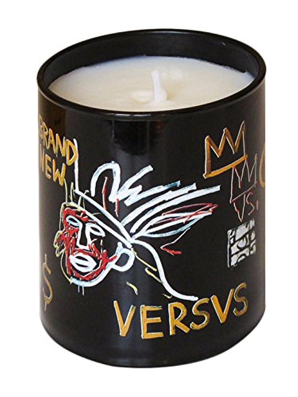 気分が悪い夕方ふさわしいジャン ミシェル バスキア ヴァーサス キャンドル(Jean-Michael Basquiat Perfumed Candle