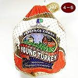 ターキー 七面鳥 4?6ポンド(約1.8?2.7Kg) 生 冷凍 アメリカ産 4?6人分