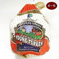 ターキー 七面鳥 4~6ポンド(約1.8~2.7Kg) 生 冷凍 アメリカ産 4~6人分