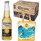 [エコバッグ付き]ビール コロナ・エキストラ ボトル 355ml×24本[Amazon.co.jpが販売・発送する商品のみ]