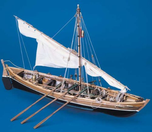 1030 輸入木製帆船模型 マンチュア モデル パナルト 742 捕鯨ボート