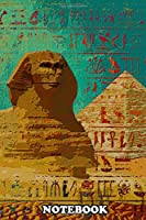 "Notebook: Sphinx , Journal for Writing, College Ruled Size 6"" x 9"", 110 Pages"