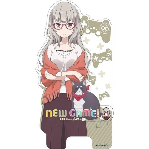 NEW GAME! 葉月しずく キャラスター☆スマホスタンド