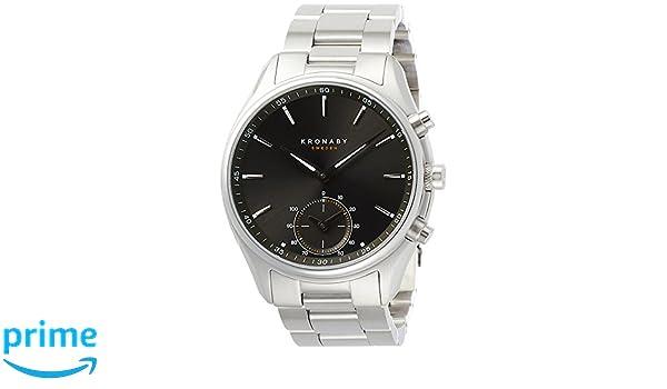 b932b55bc3f6 Amazon | [クロナビー] KRONABY コネクトウォッチ セーケル スマホ連動 A1000-1906 【正規輸入品】 | レディース腕時計  | 腕時計 通販