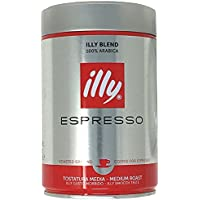 illy(イリー) エスプレッソ粉 ミディアムロースト 250g