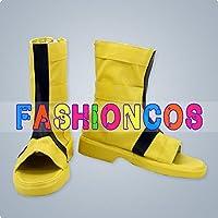 ★サイズ選択可★男性25.5CM UA1583 NARUTO -ナルト- うずまきナルト コスプレ靴 ブーツ