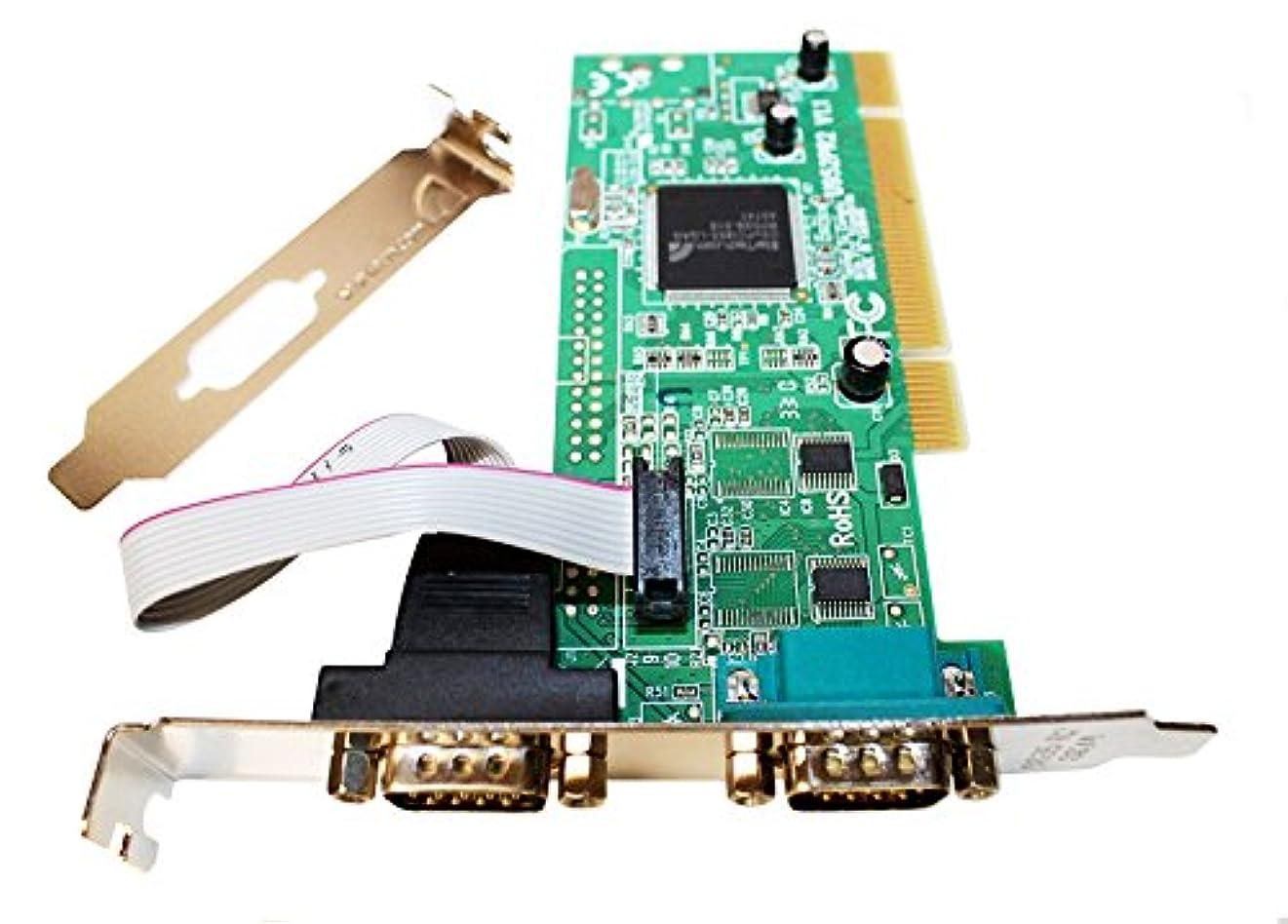 ダイジェストできない猟犬rocketbus pci2s950dv 2 - Port PCI rs232シリアルアダプタ16950 UARTデスクトップコンピュータPCカード