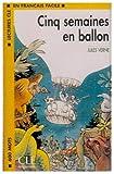 Lectures Cle En Francais Facile - Level 1: Cinq Semaines En Ballon - Cassette