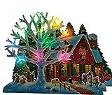 サンリオ(SANRIO) クリスマスカード メロディー 白い木と家 JXPM 6-1 S 7406