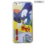 カスタムカバー iPhone 6 トム&ジェリー(ニュースペーパー)