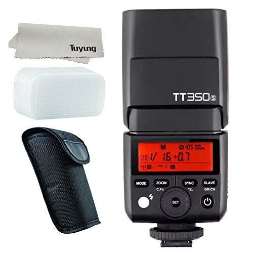 Godox Thinklite TTL TT350S ミニカメラフラッシュ高速1 / 8000s GN36 ソニーミラーレス DSLR カメラ A77II A6000 A6500 RX10 シリーズ