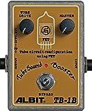 ALBIT ベース用オーバードライブ・ブースター TubeSound Booster TB-1B