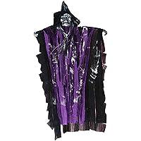 Dovewill ハロウィーン飾り おばけ 飾り お祭り パーティー用 全3色 - 紫, 38 x 63cm