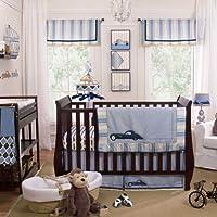 Luca 4 Piece Baby Crib Bedding Set by Petit Tresor by Petit Tresor
