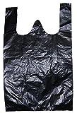 peru ゴミ袋 (とって付き 黒 18×20+8.5cm 200枚)
