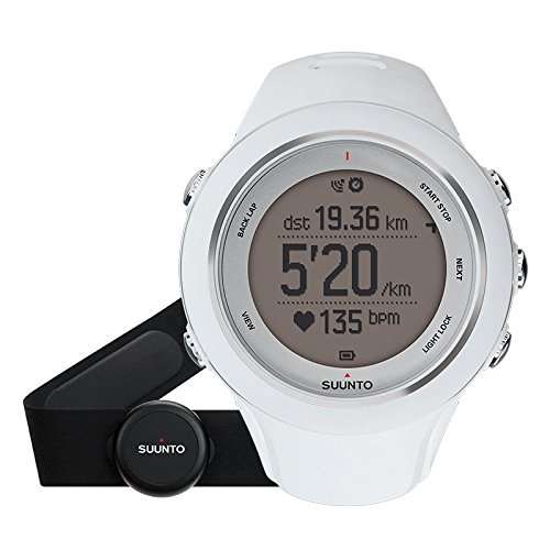 SUUNTO(スント) Ambit3 Sport HR Monitor Running (アンビット3 スポーツ) ランニング GPS搭載 ホワイト ハートレート有り [並行輸入品]