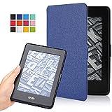 ATiC Amazon NEW-Kindle Paperwhite専用スーパー軽量薄型ケース (オートスリープ機能付き 2012/ 2013/ 2015/2016/マンガモデル適応) INDIGO