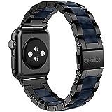 Apple Watch バンド/Apple Watch 2バンド,Wearlizer アップルウォッチ ベルト ステンレス 軽量 調整工具付 全5色