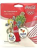 コカコーラ ピンバッジ 2016 リオオリンピック 公式ライセンス品