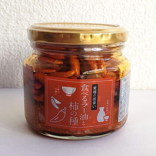 坦々ラー油と柿の種 160g 柿の種 ラー油 オイル漬け にんにく フライドガーリック 調味料 おつまみ ご飯のお供 ピリ辛 ザクザク 食感 虎姫