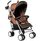 LA Baby Sherman Blvd Small Stroller, Tan/Black by LA Baby [並行輸入品]