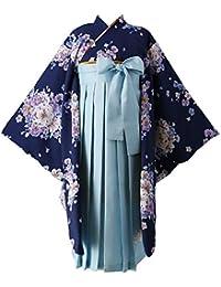 卒業 卒園 謝恩会 七五三 お正月 和服 刺繍入り袴セット 子供 女の子 HAKAST10