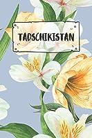 Tadschikistan: Liniertes Reisetagebuch Notizbuch oder Reise Notizheft liniert - Reisen Journal fuer Maenner und Frauen mit Linien