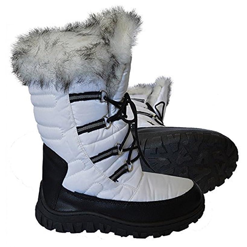 本物散歩に行く事件、出来事XTM NADJA レディース スノーブーツ FL001 ホワイト EU:38
