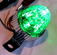 LED3 ミニサイドマーカーランプ 12V グリーン/グリーン 532483