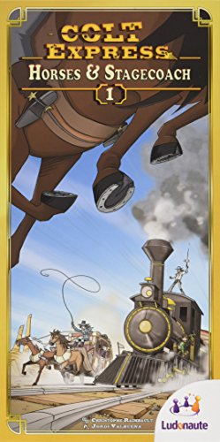 Colt Express Horses & Stagecoachボードゲーム