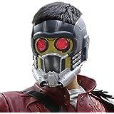 グローメガネ大人用ヘルメットコスチュームハロウィンPVCマスク付きガーディアンズマスクコスプレ最新バージョン