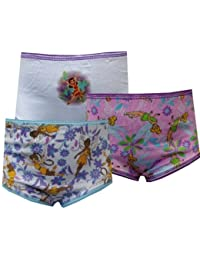 Disney Fairies Tinkerbell and Friends 3 Pack Girls Panties for Little Girls (6)