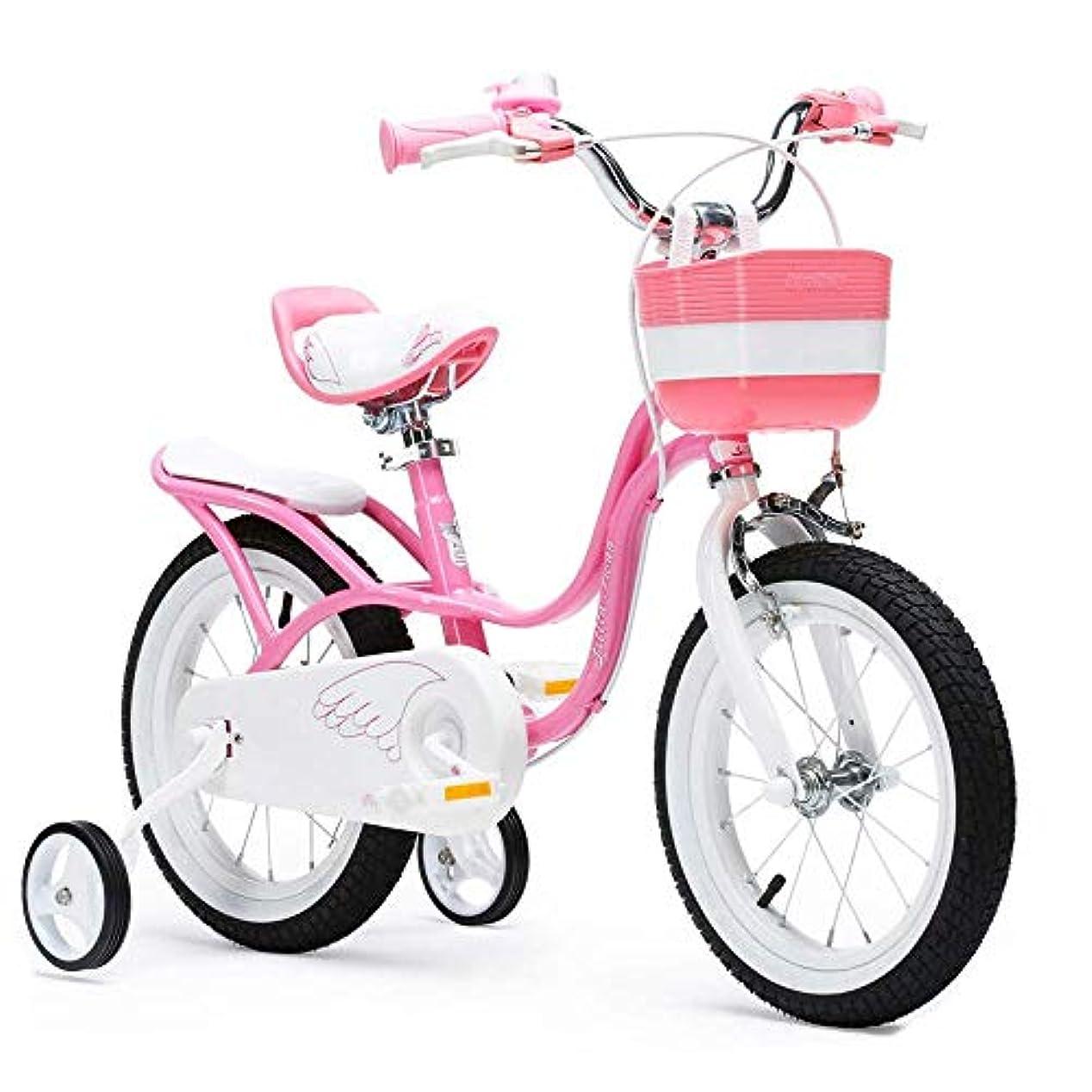 ラジカル買う用心するキックスタンド幼児自転車自転車バイクと女の子の自転車自転車、トレーニングホイールと12インチキッズバイク